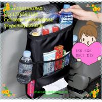 Quality 2015 Insulated bottle Holder Cooler bag Car Seat Back organizer wholesale