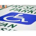 Scream Printing Aluminium Road Sign Untearable Highway Road Symbols for sale