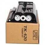 Quality 870g Premium Laser Printer Toner TK420 Without Chip For Kyocera Mita KM - 2550 wholesale