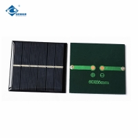 China Crystalline 3V foldable solar charger for electric bicycle motor ZW-6055 custom shaped 0.47W on sale
