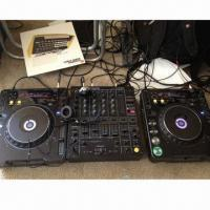 China Pioneer DJ Denon/MP3 Player DJ Light/Mixer Deck, DJ Player DVD Refurbished Equipment, Supports USB on sale