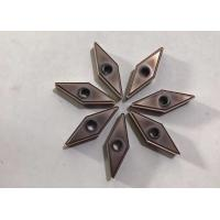 China VKD Has Plenty Of Black Carbide Machining Inserts , Diamond Carbide Inserts With Chip Breakers on sale