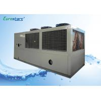 Quality Free Standing R407C Monobloc Air Cooled Packaged Chiller 311KW Cooling Capacity wholesale