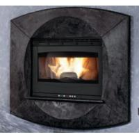 Quality Modern Style Insert Wood Burning Stove Self Cleaning 75 / 80mm Smoke Outlet wholesale