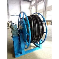 Quality JTB Type Retractable Cable Reel Q235 Steel Material 50A With Wheels wholesale