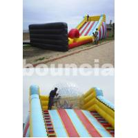 Quality 5m High Inflatable Zorb Ball Slope ,Inflatable Track For Zorbing Ball wholesale