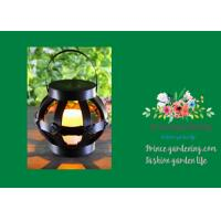 Quality Mini Round Woven Solar Garden Lights / Garden Rattan Solar Lights wholesale
