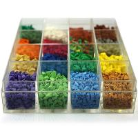 Quality Ultraviolet Resistant Colored Rubber Granules For Sandbox Environment Friendly wholesale