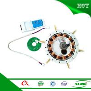 Quality 12v dc brushless solar fan motor cooling ceil fans wholesale