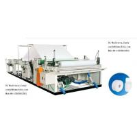 China Toilet Paper Rewinding and Slitting Machine (DC-RSM-1092/1575I) on sale