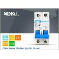 Quality Short circuit protect overload Miniature circuit breakers mcb c63 with remote control wholesale