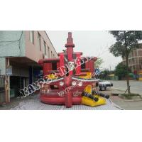 China High quality Inflatable pirate Ship slide, ,Inflatable boat slide,standard slide on sale