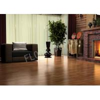 China Wood Non Slip Laminate Flooring ECO Thickness 8mm E1 Waxed Birch Color on sale