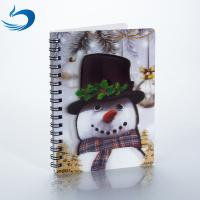 China A5 PET 3D Lenticular Notebook Customized Spiral Bound Notebook SGS Listed on sale