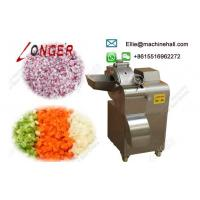 Quality Industrial Ginger Cube Cutting Machine/Onion/Carrot/Apple Dicer/Dicing Machine wholesale