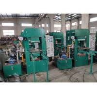 China 100T Customized Platen Size Rubber Rolls Hydraulic Molding Press Machine with Manual Sliding Mold on sale
