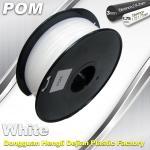 Quality POM 3D Printer makerbot filament 1.75 / 3.0mm 1.3Kg / Roll Filament wholesale