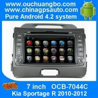 Quality Ouchuangbo Car GPS Radio Player Bluetooth AUX RDS Kia Sportage R 2010-2012 Android 4.2 DVD Stereo System OCB-7044C wholesale