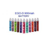 Quality Ego D battery 900mah 12 colors with ego 510 atomizer E cigs wholesale