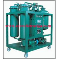 Cheap Vacuum Thermojet Turbine Lube Oil Purifier for sale