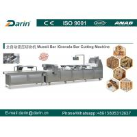 Buy cheap Peanut Bar Cutting Making Machine with Siemens PLC made by Darin Machinery from wholesalers