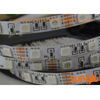 Quality Full Color RGB 5050 LED Strip Lights , LED Flexible Strip Lights For Interior House wholesale