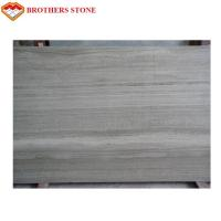 Quality Direct Supply Crystal Wood Grain Marble Stone Slabs Standard Or Customized Size wholesale