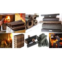 China Factory Supply  screw straw rice husk  biomass wood sawdust charcoal briquette making  machine on sale