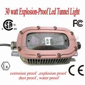 Quality 220 Volt CREE 30 Watt LED Explosion Proof Light 6500K 78Ra For Underground Tunnel wholesale