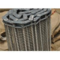 Quality Stainless Steel Wire Mesh Conveyor Belt With Chain Smooth Surface wholesale