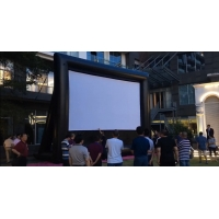Quality Outdoor Theater Outdoor Screen Removable Portable Air Projector Screen Inflatable Screen for Outdoor Cinema wholesale