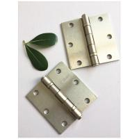 China Two Ball Ball Bearing Hinges For Interior Doors Satin Nickel Steel High Durability on sale