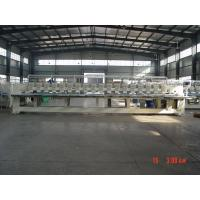 Quality Professional 18 Heads Flat Embroidery Machine / Emb Machine For Business wholesale