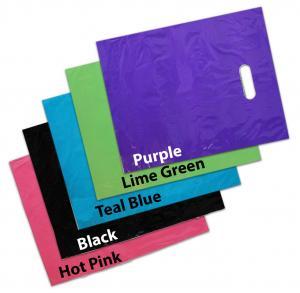 Quality LDPE Material Custom Die Cut Plastic Bags Gravure Printing High Durability wholesale