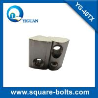 Buy cheap roll-in T slot nut with spring loaded ball with high strength carbon steel material product
