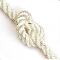 Quality dia 5mm-38mm white or colors nylon 3-strand twsit cord from AA rope factory wholesale