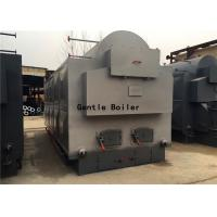 Buy cheap Manual Operation Type 4ton wood firewood log fired industrial steam boiler for from wholesalers