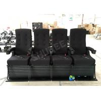 Quality 80 People Motion Chair 4D Theatre Equipment Dynamic System For Shopping Mall wholesale
