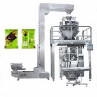 Quality Multihead weigher VFFS Tortilla crisps/Snack/fungus packing machine wholesale