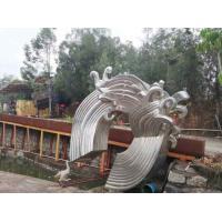 Quality Large Modern Abstract Sculpture Stainless Steel Public Commercial Decoration wholesale