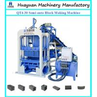 Quality Lowest Cost cement manual brick making machine QT4-30 semi-auto cement brick making machine price in india wholesale