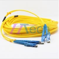 China 9/125 Singlemode E2000 Fiber Optic Patch Cord on sale