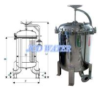 Cheap Huge Flow Cartridge Industrial Filter Housing For Cooling Tower Filtration for sale