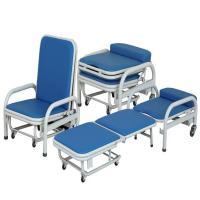 Quality Medical Manual Foldable Accompanying Hospital Chair Stainless Steel Dining wholesale