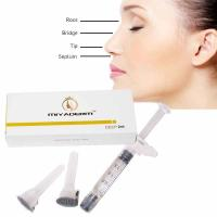 Quality facial plastic surgery best wrinkle filler ha injection for crease under nose wholesale
