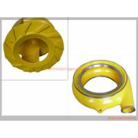 Quality Red Yellow Color Horizontal Slurry Pump Parts Of Centrifugal Pump Long Lifespan wholesale