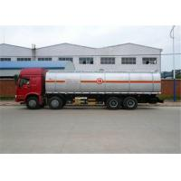 Quality Sinotruk howo 8x4 Aluminium alloy fuel tanker truck for oil transport wholesale