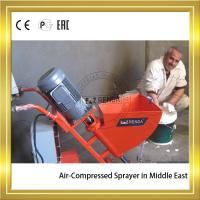 Quality Air-compressed High Pressure Mortar Sprayer Machine With Power 2.2KW wholesale
