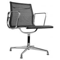 China American Style Aluminum Office Chair / Mesh Meeting Chair Highly Breathable on sale