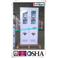 Polypropylene Hazardous Material Storage Cabinets With Window For Laboratory / Chemical